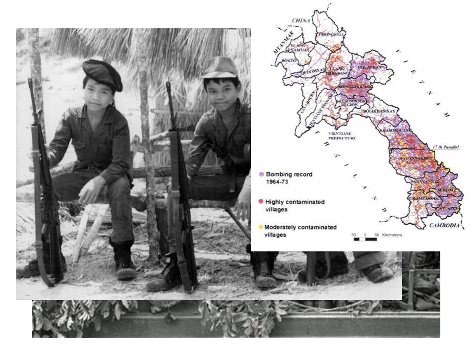 Laos The United States began a secret war, using the CIA to arm and train an anticommunist force in Laos The conference did nothing to stop the civil war the Laos Communist movement known as the Pathet Lao.