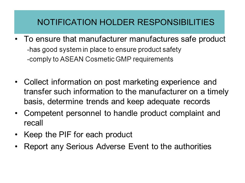 PRODUCT INFORMATION FILE (PIF) Part I : Administrative documents and product summary (As defined in ACD Guidelines for Product Information File) Part