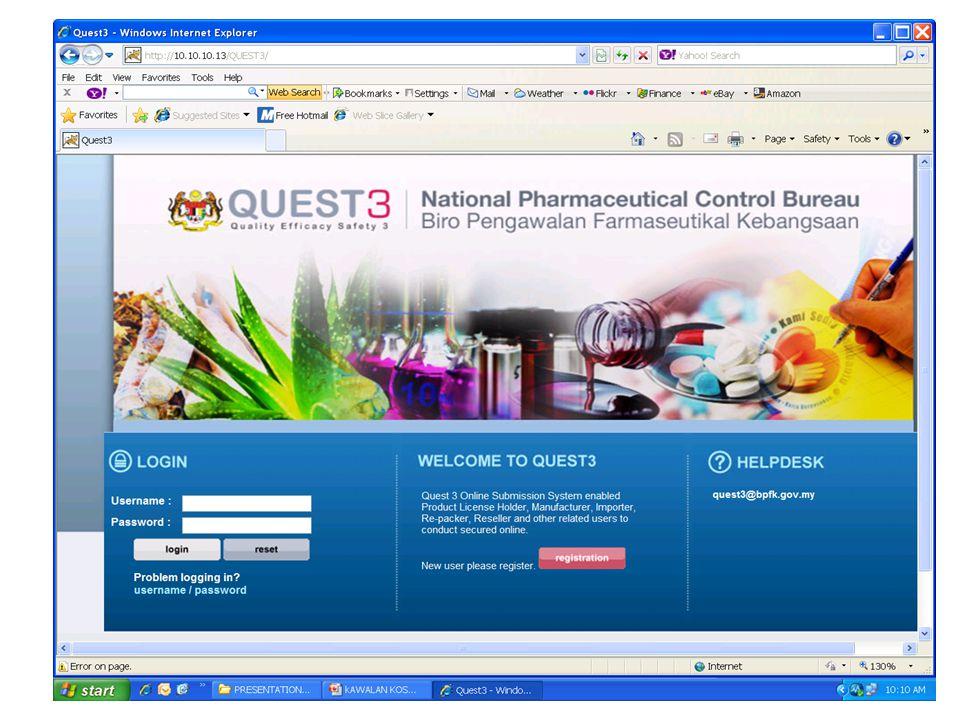 45 National Pharmaceutical Control Bureau MOH Malaysia