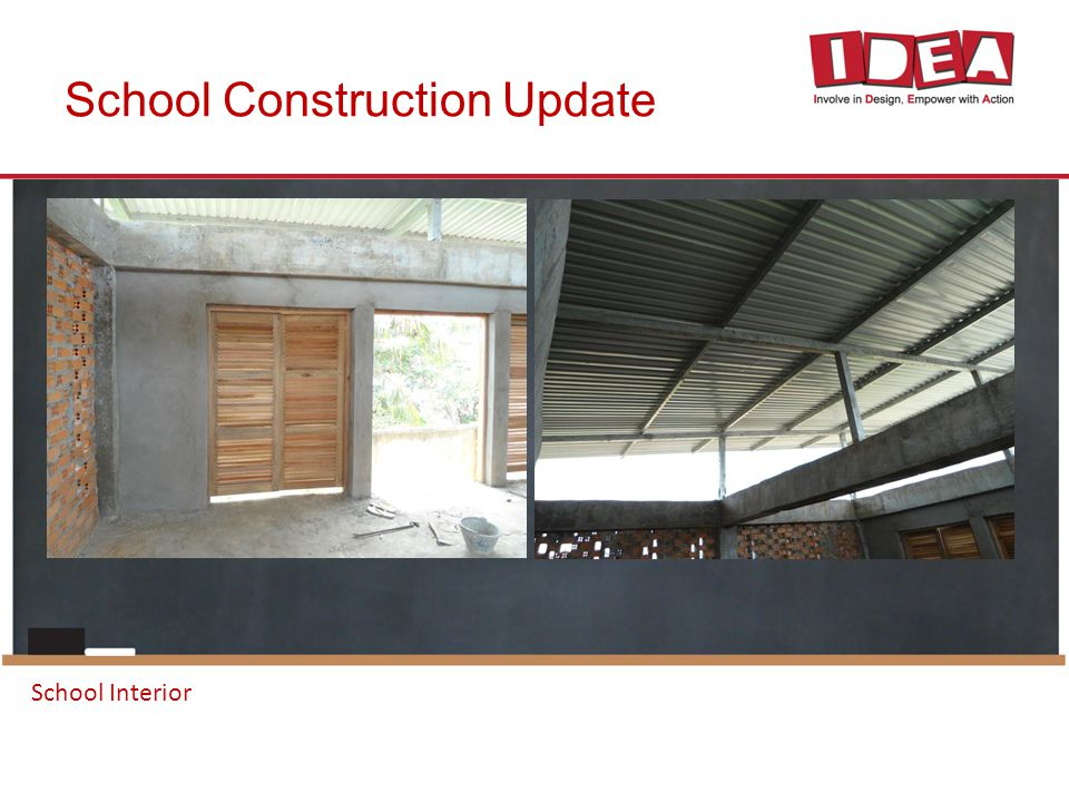 School Construction Update School Interior