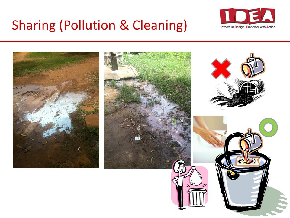 Sharing (Pollution & Cleaning)