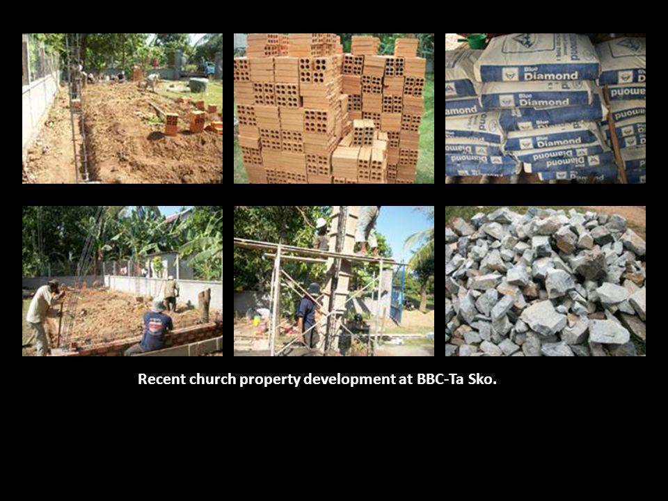Recent church property development at BBC-Ta Sko.