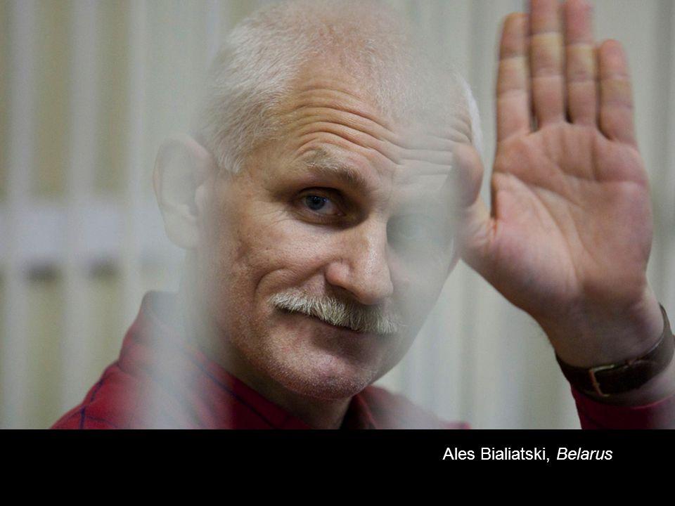 Ales Bialiatski, Belarus