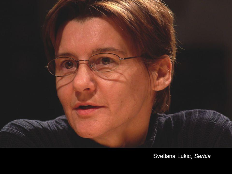 Svetlana Lukic, Serbia