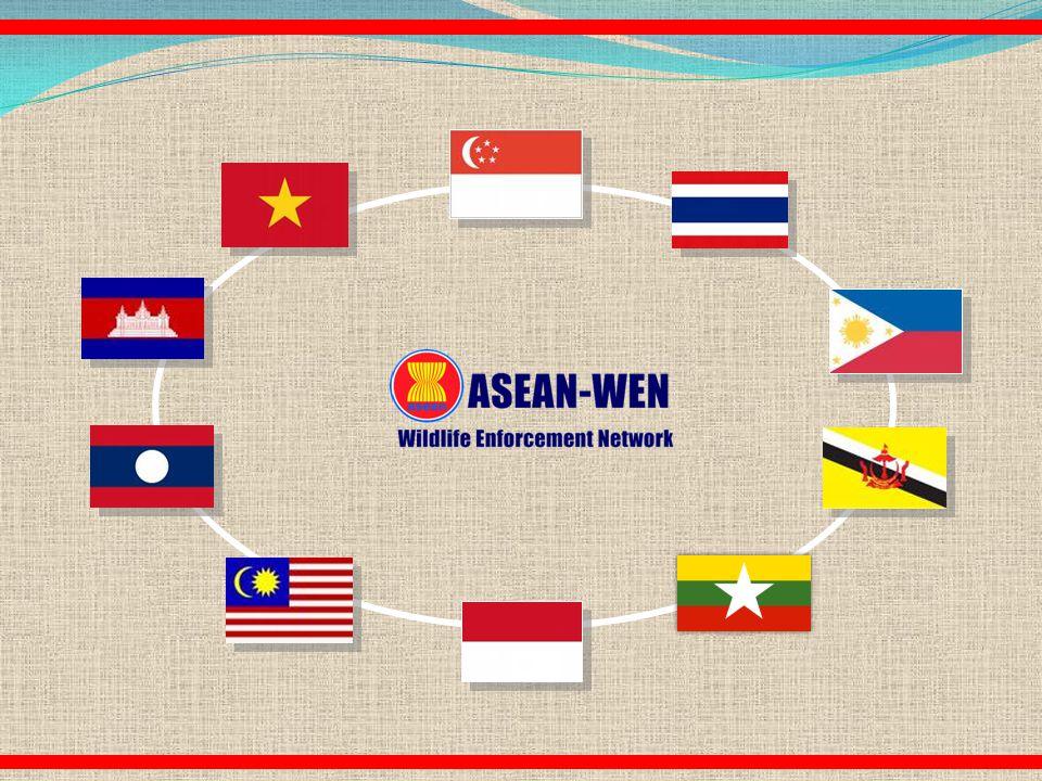 ASEAN Regional Wildlife Law Enforcement Initiatives ASEAN-WEN Program Coordination Unit08 December 2012, Malaysia 2