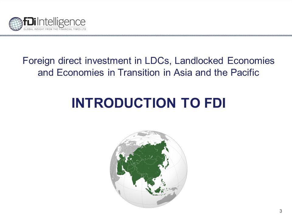 14 Source: fDi Markets database, fDi Intelligence, Financial Times Ltd.