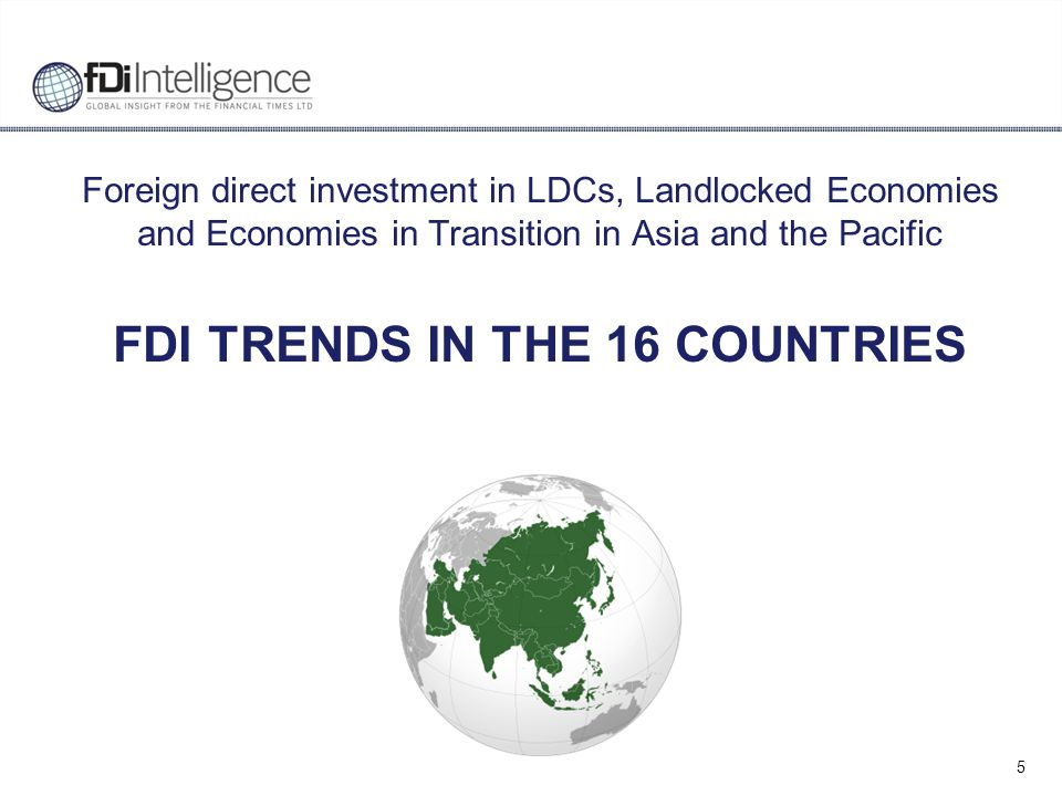 16 Global share of 16 countries Population, GDP, and FDI The 16 countries account for 321 million people with a combined GDP of $530 billion They attracted $66.2 billion FDI flows in the last three years An estimated 200,000 jobs were created by greenfield projects since 2008 Region outperforms the world relative to GDP but underperforms relative to population Share of the 16 countries in world population, GDP, and FDI Source: fDi Intelligence, Financial Times Ltd.