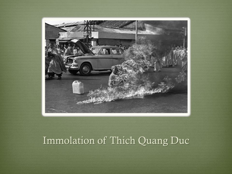 Immolation of Thich Quang Duc