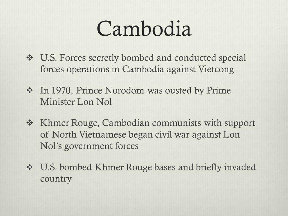 Cambodia  U.S.