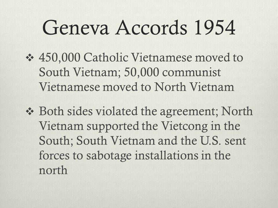 U.S.Commits Troops  March 1965, L.B.J. sends marines to Vietnam to protect U.S.