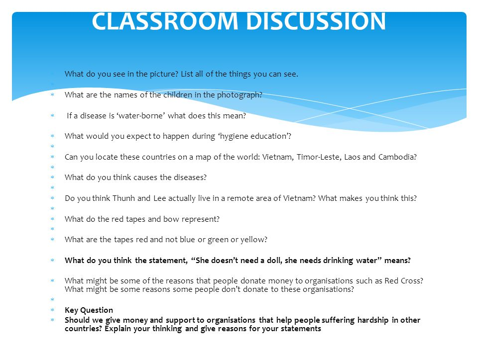  Reflect What am I going to do with this information that we have worked on today back at school.