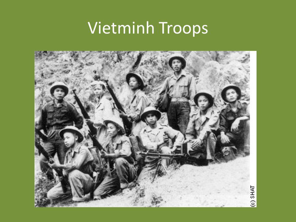 Vietminh Troops