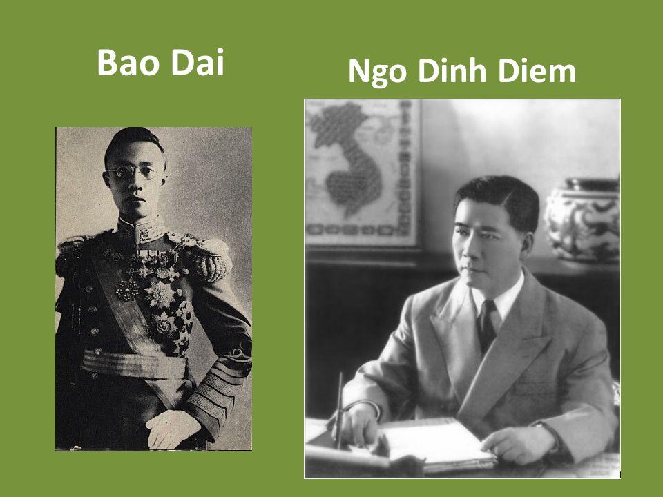 Bao Dai Ngo Dinh Diem