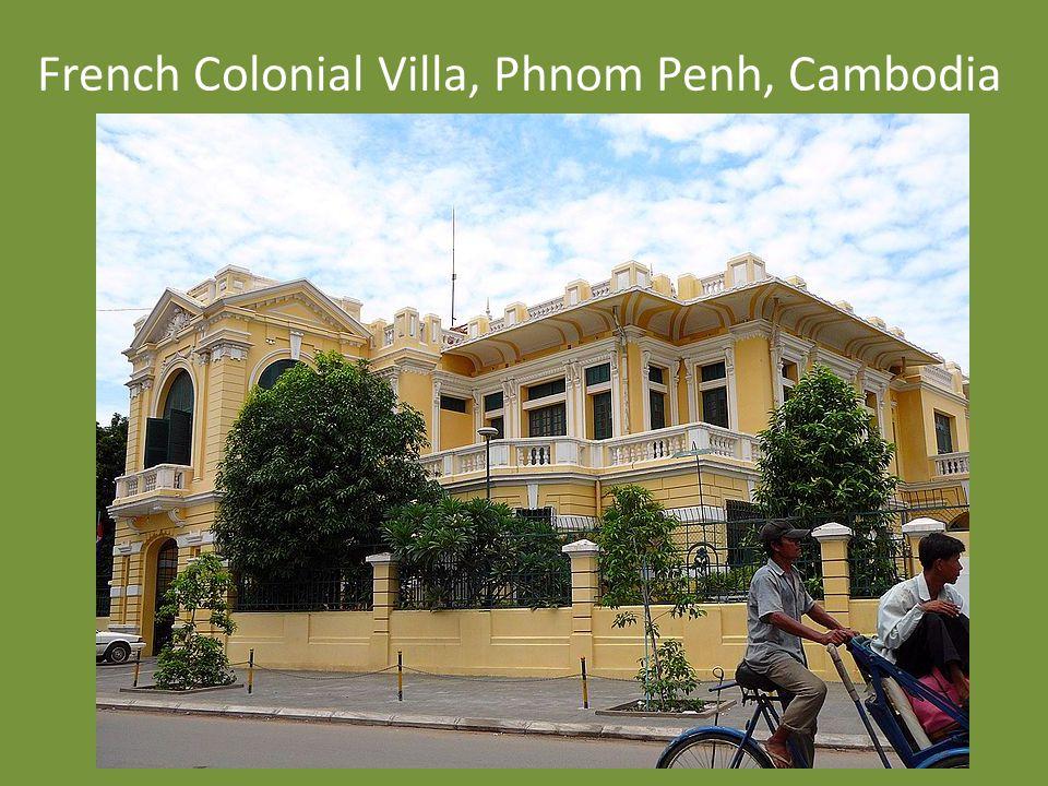 French Colonial Villa, Phnom Penh, Cambodia
