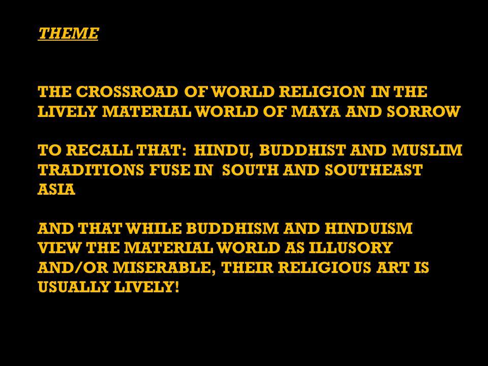 SHIVA AS MAHADEVA (GOD OF THE WORLD, WITH 3 FACES), CAVE 1, ELEPHANTA, INDIA, © 550–575.