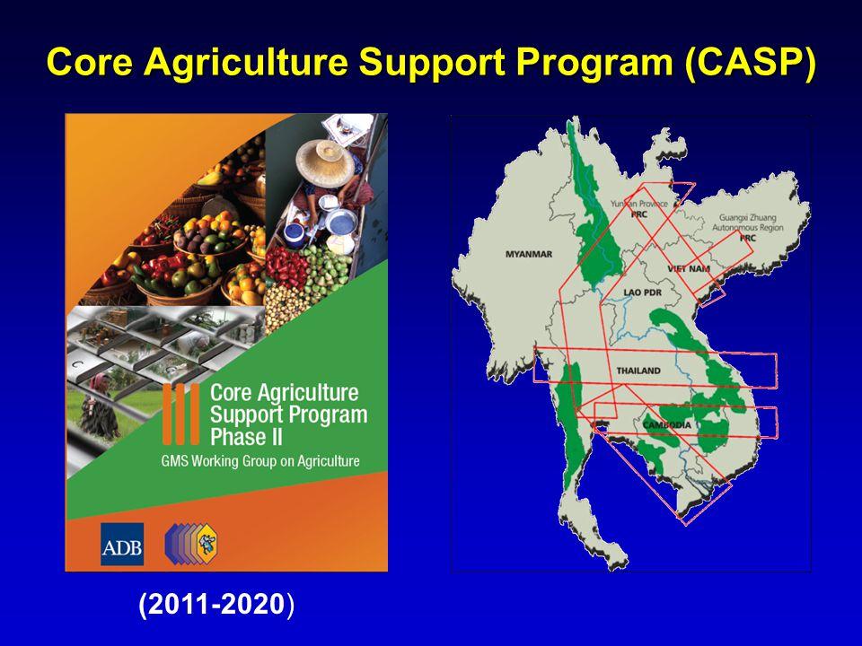 Core Agriculture Support Program (CASP) (2011-2020)