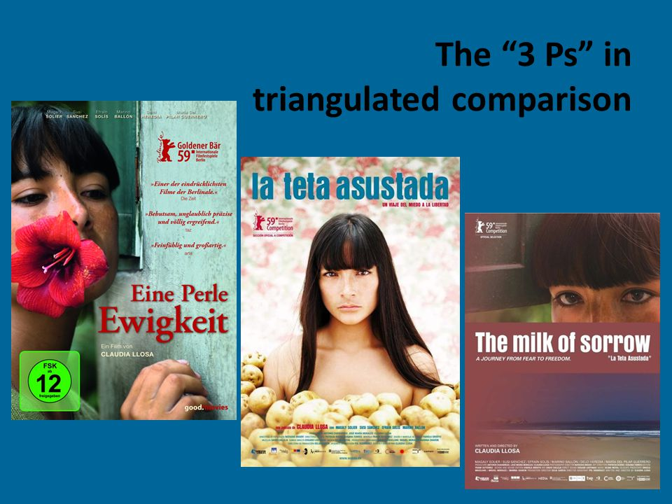 """The """"3 Ps"""" in triangulated comparison"""