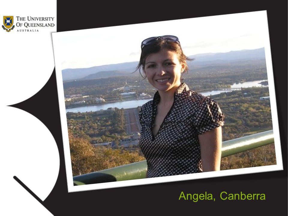 Angela, Canberra