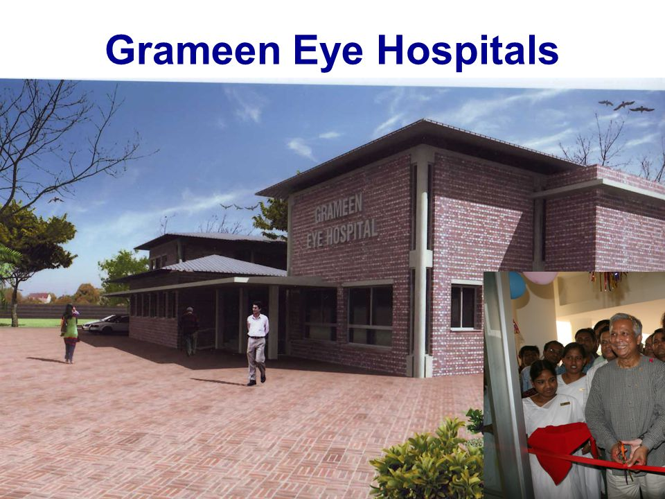 Surgeries: 47,000 70% pay $33 20% pay $78 10% free Profit $222,222 Lumbini Eye Hospital, Nepal