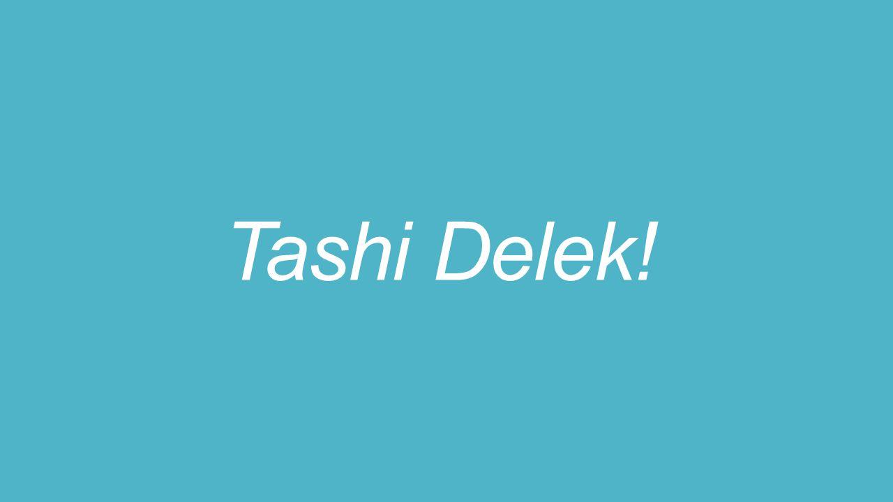 Tashi Delek!