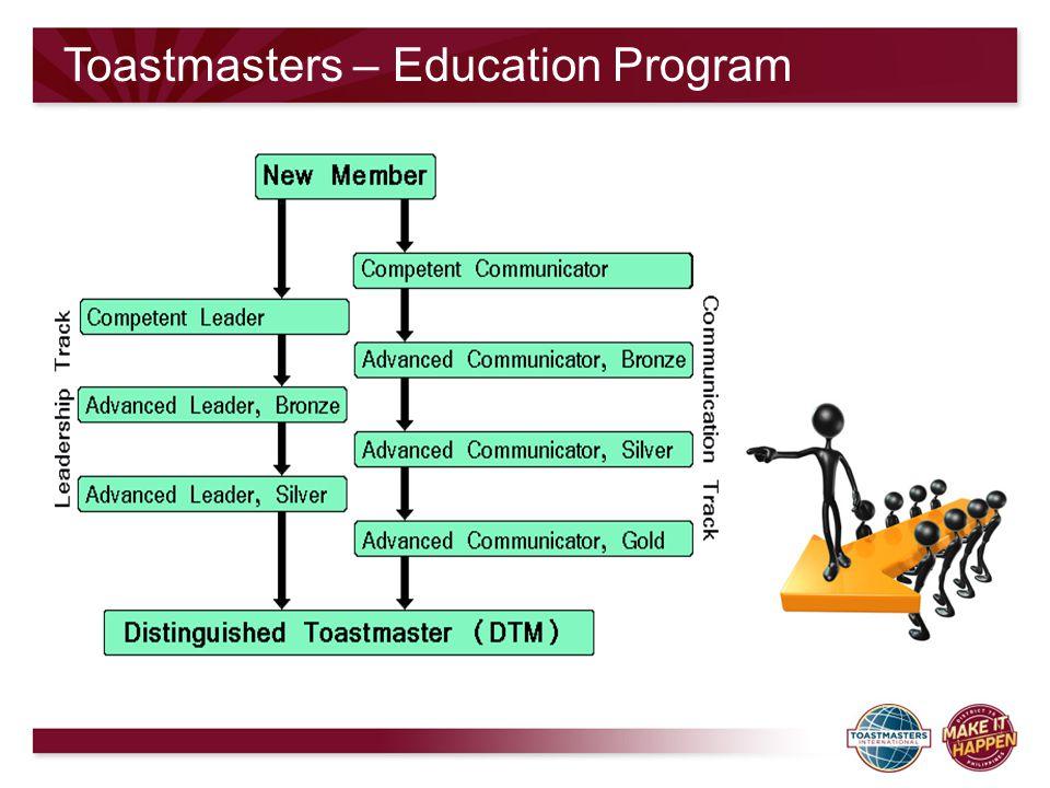 Toastmasters – Education Program