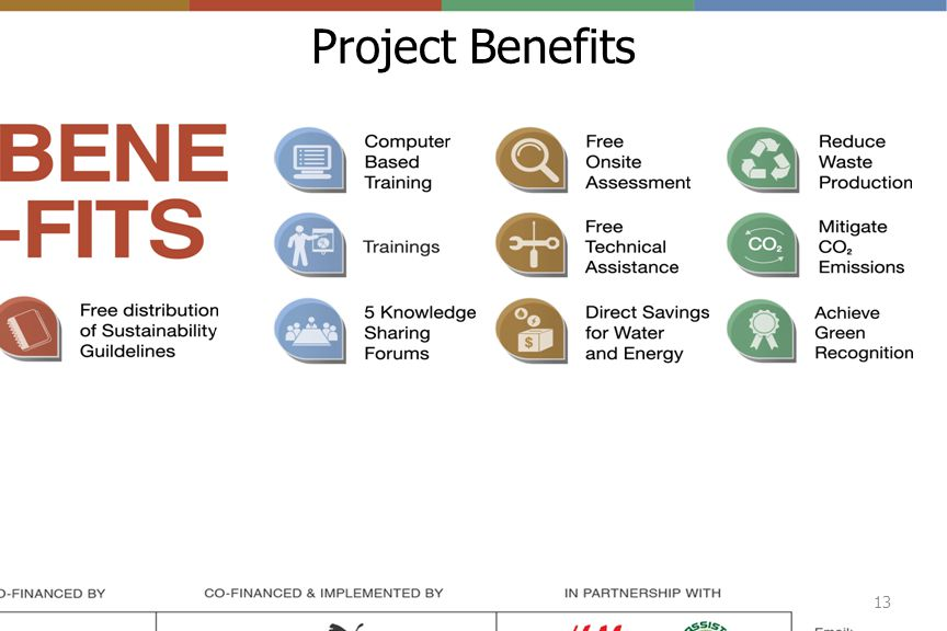 Project Benefits 13