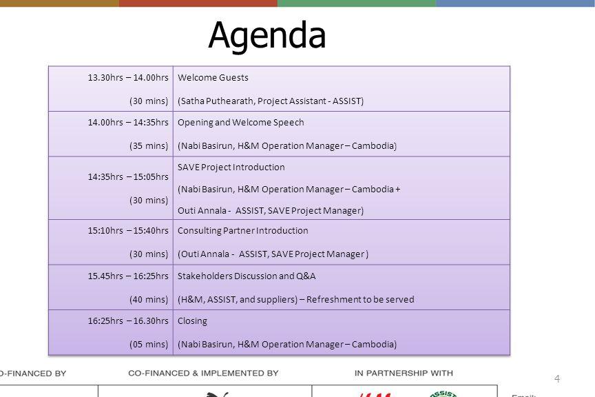 Agenda 4