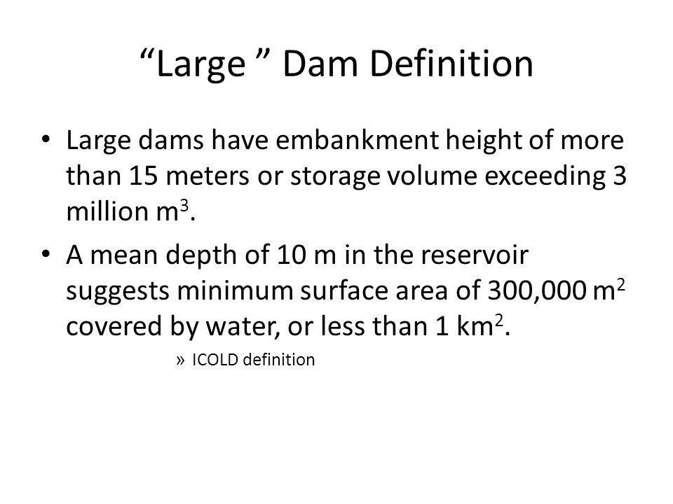 Global Database of Dams http://sedac.ciesin.columbia.edu/theme/land-use/maps/gallery/set/grand-v1-dams-rev01