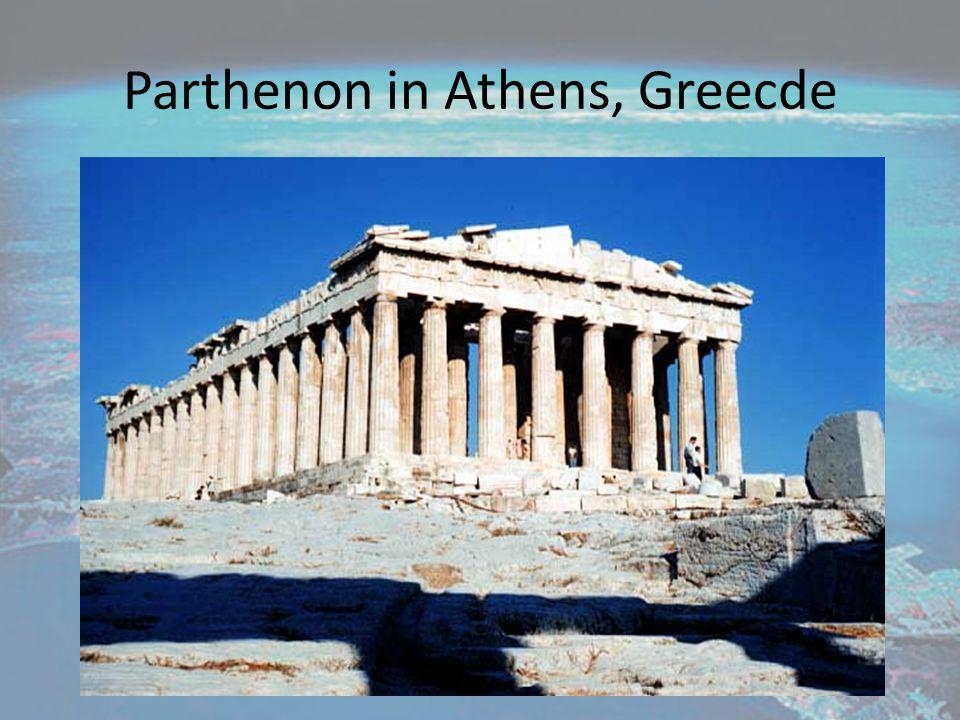 Parthenon in Athens, Greecde
