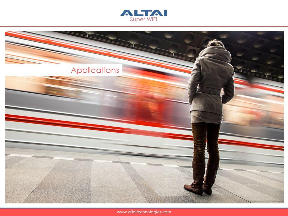 www.altaitechnologies.com Applications