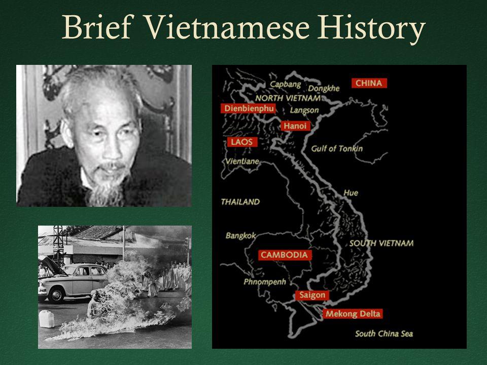 Brief Vietnamese HistoryBrief Vietnamese History