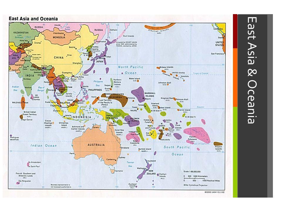 East Asia & Oceania