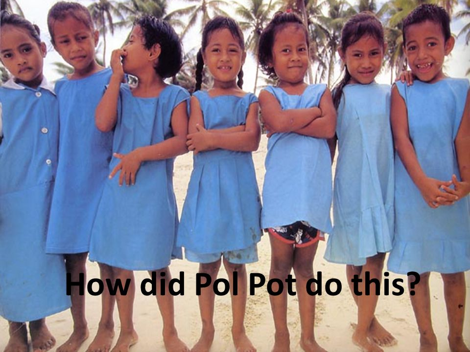 How did Pol Pot do this