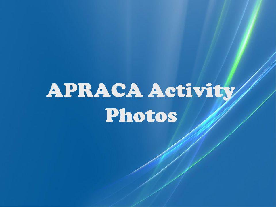 APRACA Activity Photos