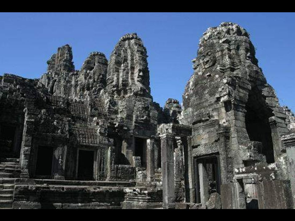 "Here we are in ""Bayon"" complex with its 54 towers, each tower and wall is differently ornated.One is stunned by the beauty and the eyes cannot absorb"