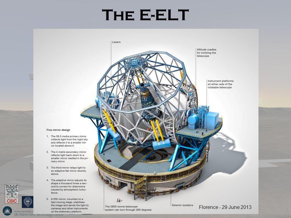 The E-ELT Florence - 29 June 2013