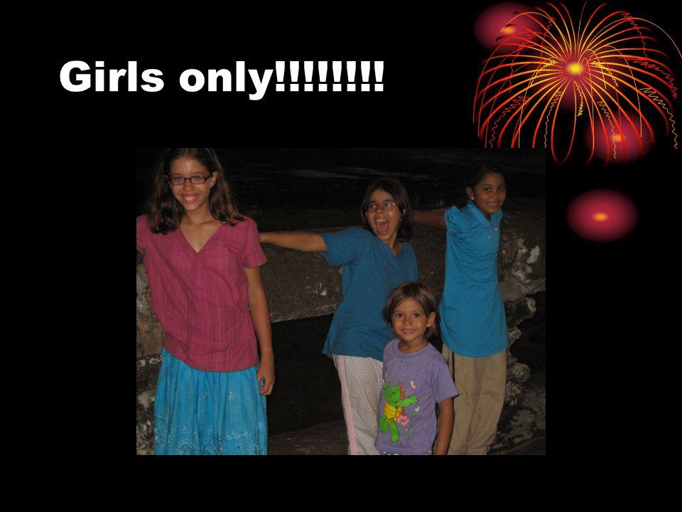 Girls only!!!!!!!!