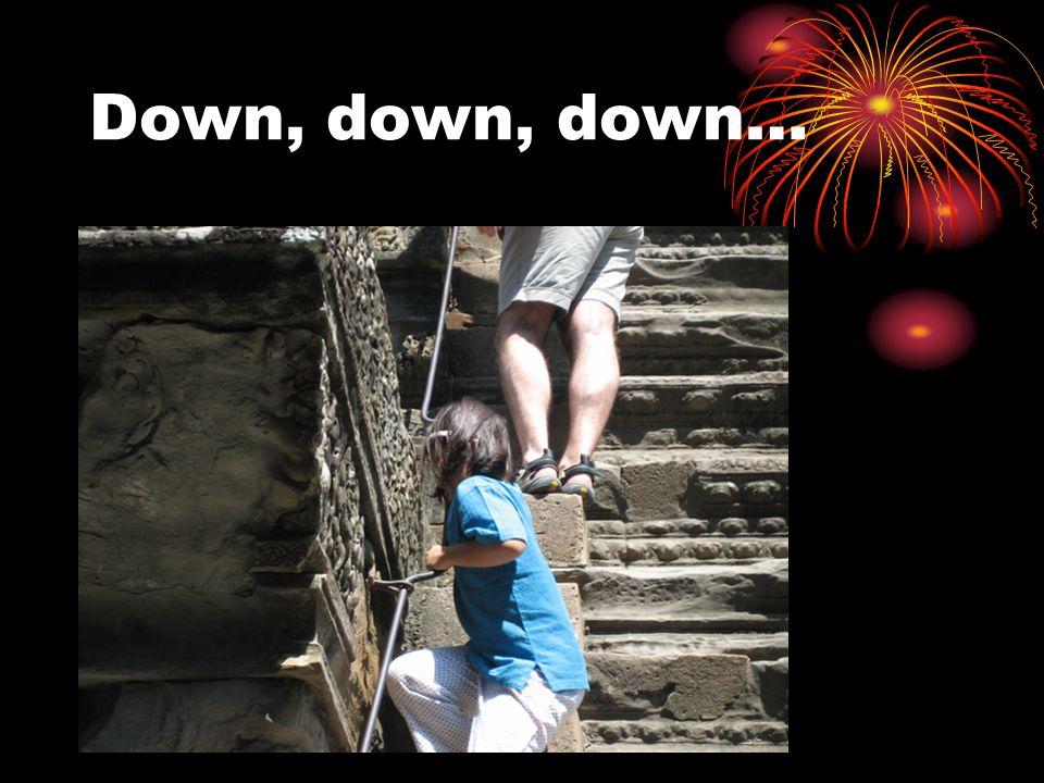 Down, down, down…