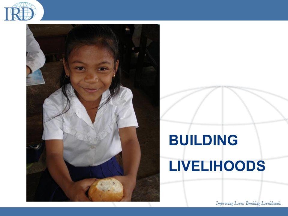 BUILDING LIVELIHOODS