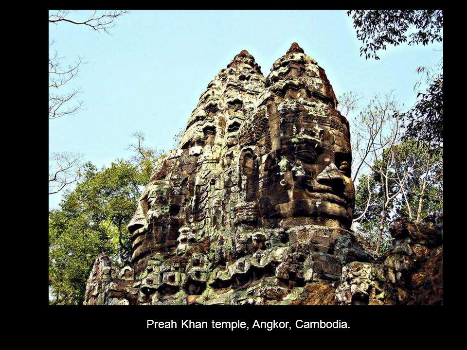 Preah Khan temple, Angkor, Cambodia.