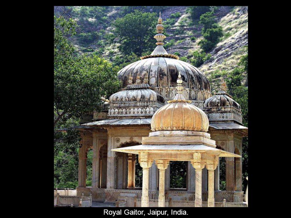 Royal Gaitor, Jaipur, India.