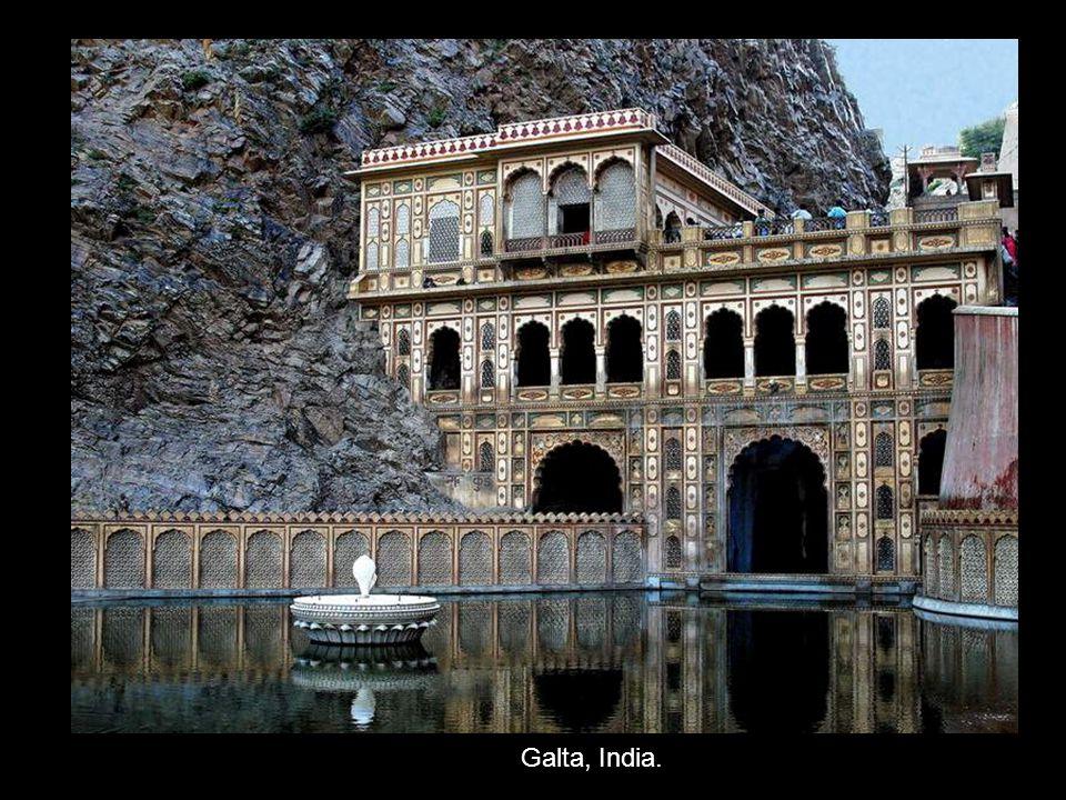 Galta, India.
