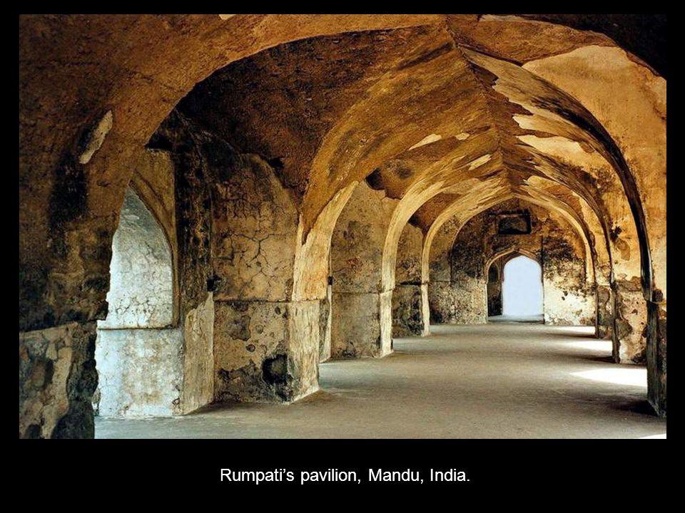 Rumpati's pavilion, Mandu, India.