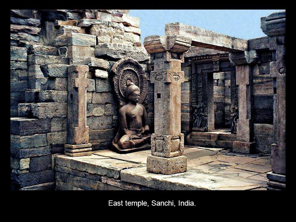 East temple, Sanchi, India.
