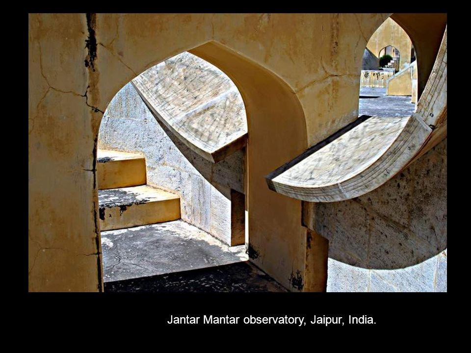 Jantar Mantar observatory, Jaipur, India.