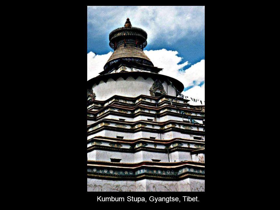 Kumbum Stupa, Gyangtse, Tibet.