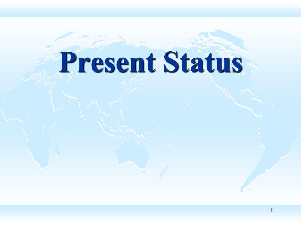 11 Present Status
