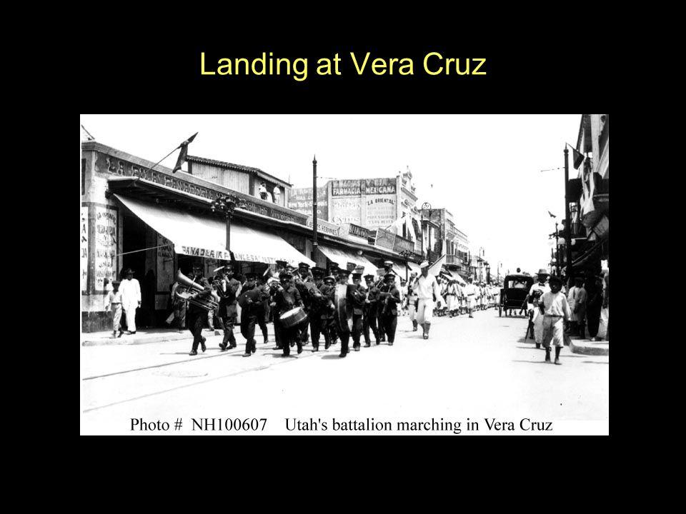 Landing at Vera Cruz