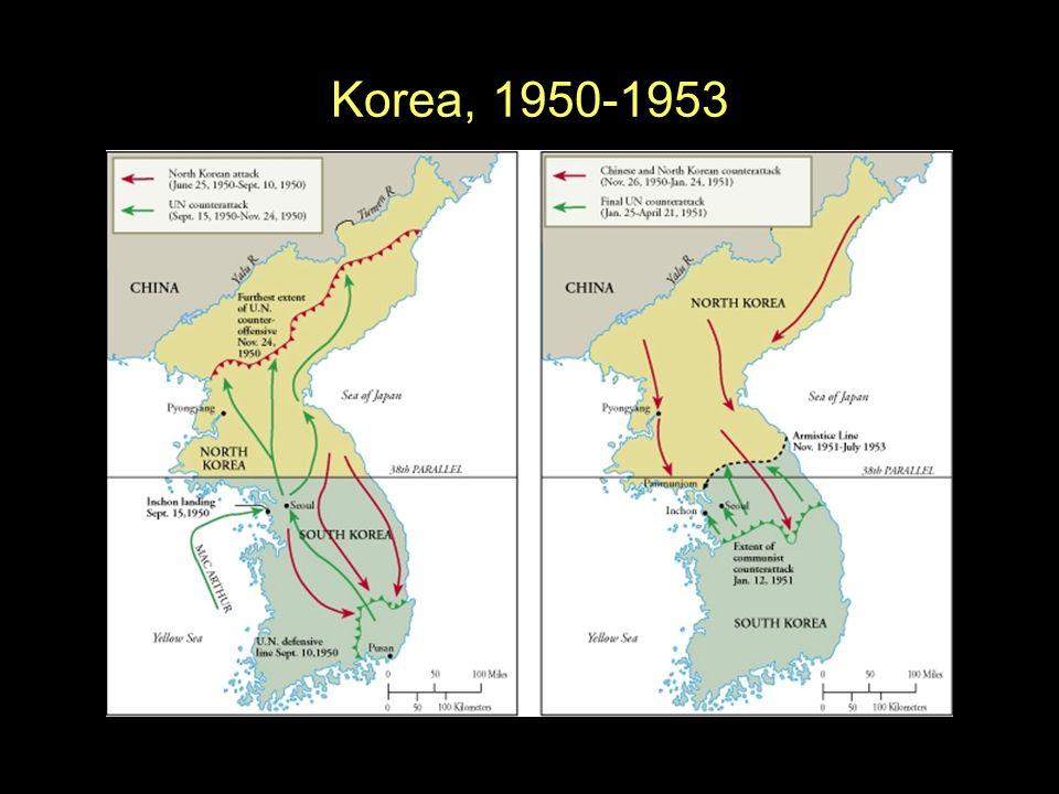 Korea, 1950-1953