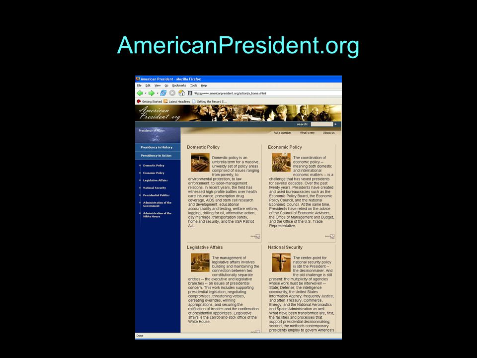 AmericanPresident.org